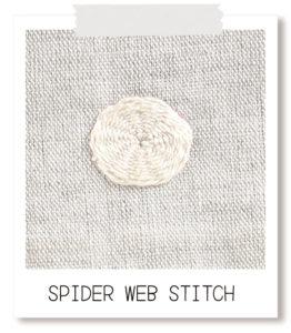 SPIDERWEBSTITCH