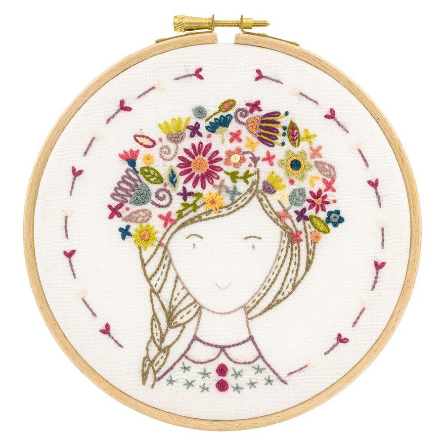 044-70907 Eglantine fleur des champs(お花畑のエグランティーヌ)